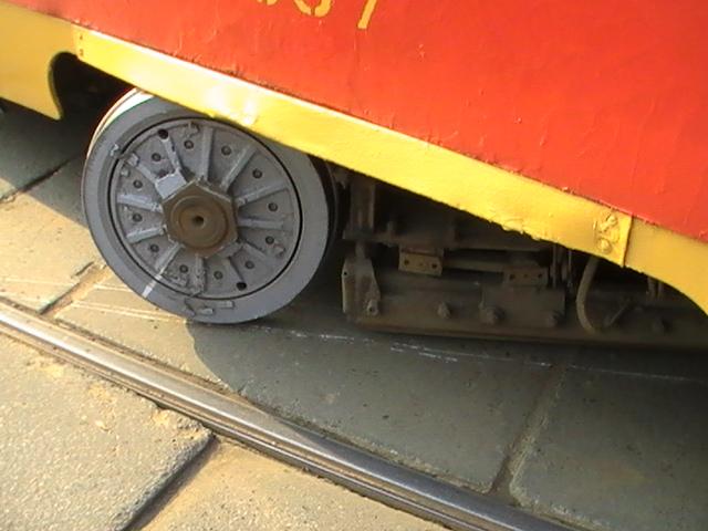 Трамвай сломался