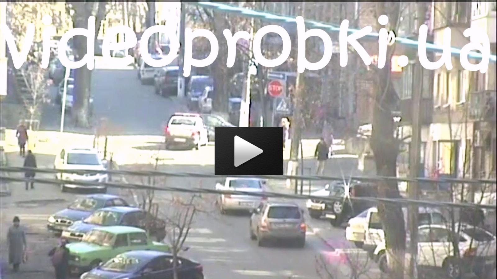 видео ДТП в Киеве