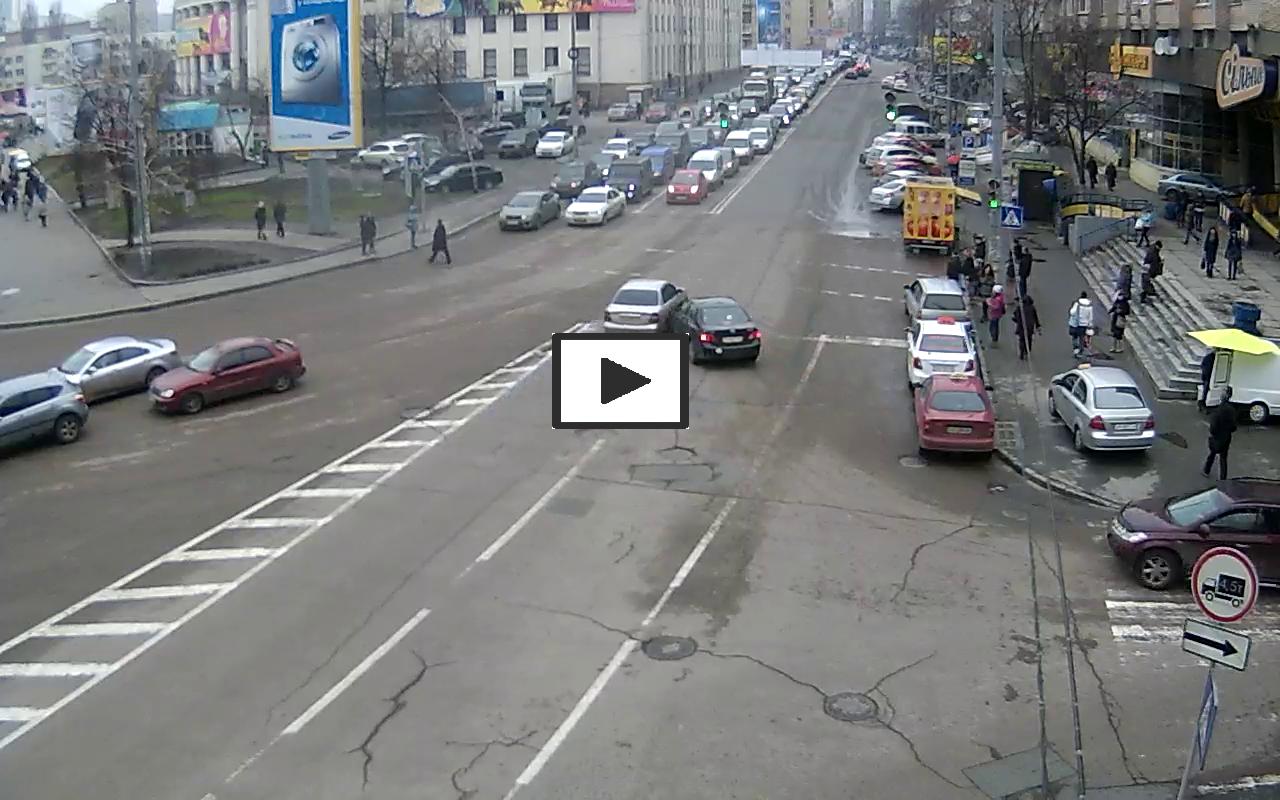 ДТП на площади Победы