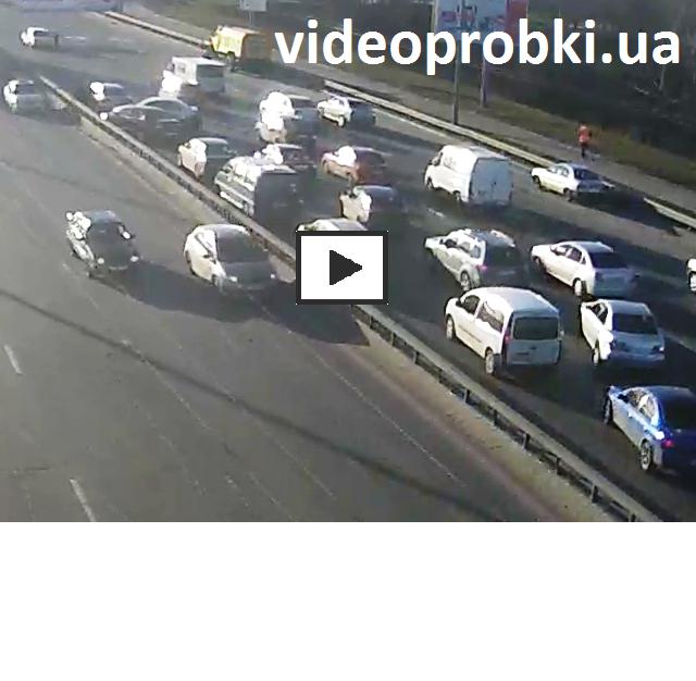 массовое ДТП на Московском мосту