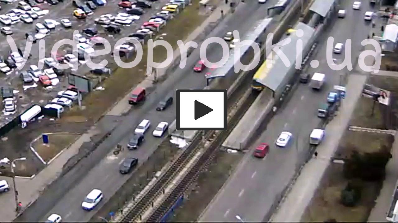 ДТП плохие дороги в Киеве
