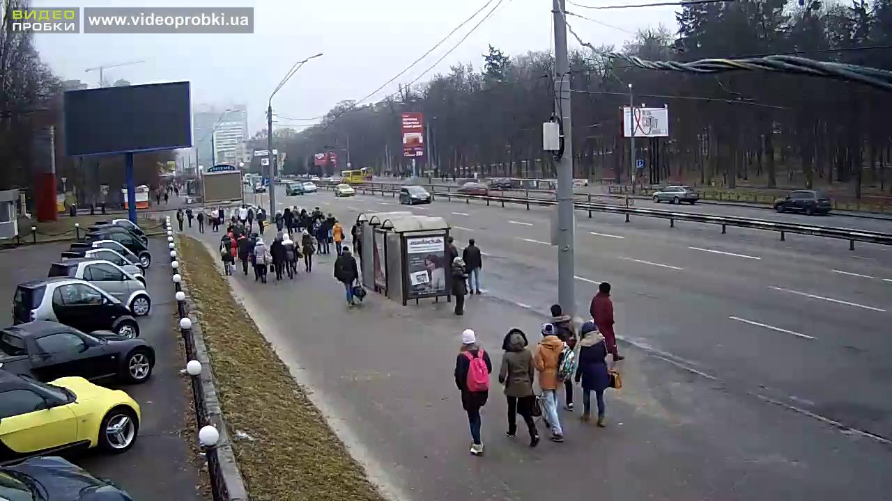 остановка Зоопарк в Киеве